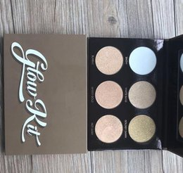 Wholesale New stocking Ultimate Glow Makeup Face Highlighting Powder Palette Cosmetic Makeup Kit DHL free