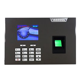 Machine d'horloge d'empreintes digitales en Ligne-Biometric Time Clock Recorder Fingerprint temps de présence machine F6145H