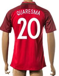 Wholesale Thai Quality Customized new European Cup National QUARESMA Soccer Jersey Shirts Cheap ELISEU RAFAEL football Wear