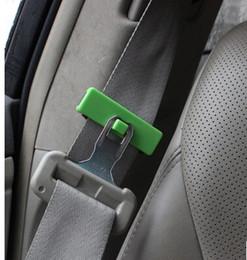 Wholesale 2 car seat belt slack adjuster seat belt clip adjust clamp jaw antiskid clamp holder