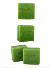 Wholesale Matcha oil control Acne anti acne shrink pores cleansing facial and bath combo handmade soap G
