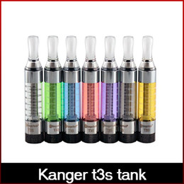 100% Authentic Kanger t3s atomizer t3s tank vaporizer for ego vision 2 evod starter kit t3s clearomizer free shipping