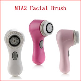 Wholesale MIA2 Electric Facial Cleansing Brush Face Massager mia2 skin care brush VS Alpha Fit Mia8 Men s skin care brush PMD nuface Trinity Batter Pa