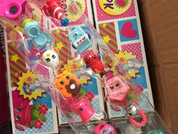 Wholesale Factory Shopping season pack baby Girls Toys for stationery Figure toys Shopping Basket Gift toys