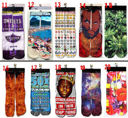 Wholesale DHL d socks stocking hip hop Sports socks d odd socks skateboard socks Unisex Sex for women man adult and big kids