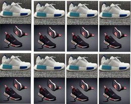 Wholesale Hot sell Nice kicks NMD_R1 W Bl Runner mens shoes outdoor Men sports athetic footwear