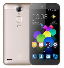Wholesale Original ZTE C880S Unlocked Cell Phone Metal Body MTK6735 Quad Core Android quot G G MP IM FDD LTE FingerPrint