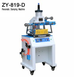 ZY-819D Pneumatic Stamping Machine,leather LOGO Creasing machine,pressure words machine,LOGO stampler,name card stamping machine