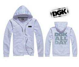s-5xl DGK hoodie Autumn Winter Fashion Men Fleece Single Breasted Hoodies Male Casual Sweatshirt Jacket 5 Colors
