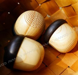 Wholesale Amazing HIFI sound music Bluetooth Speaker easy to carry away with acorn shape and elegant workmanship bluetooth speaker