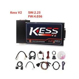 ALKcar Kess V2.23 Tuning Kit No Token Limited Kess V2 V4.036 ECU Programmer Master Version KESS V2 V2.23 FW V4.036 OBD2 Manager Tuning Kit