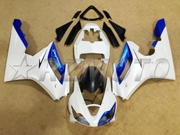 Wholesale NEW TOP quality Motorcycle Fairing kit for TRIUMPH Daytona R Cool blue and white nice
