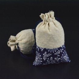 Wholesale 2016 Mini Jute Drawstring Gift Bag Incense Storage Cosmetic Jewel Accessories Sachet Packing Linen Bags cm BB