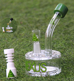 Bong! NEXUS glass bong have three accessories internal tire percolator vapor rig oil rig oil rig glass water pipe 14.4mm male joint