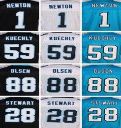 Wholesale 2016 Rams Elite Mens Good quality Jerseys Panthers Men s Cam Newton Kelvin Benjamin Luke Kuechly Greg Olsen Stewart Davis e