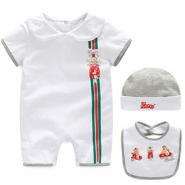 new arrival summer baby romper set kids polo baby romper boy girl set shorts suit Children's set clothing High Quality