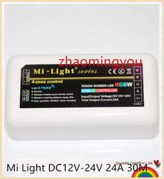 YON 100% Original Mi Light DC12V-24V 24A 30M Wireless 2.4G RF Led Controller For 5050 3528 3014 RGB RGBW RGBWW Led Strip light