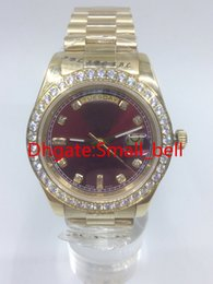 2017 luxury brand AAA quality 228348RBR diamond watch automatic mechanical date display 18K gold stainless steel men's watch