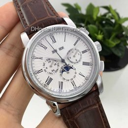 Wholesale Luxury Hot Brand Fashion Business automatic men s watches of the famous luxury brand Luxury alligator strap Creative fashion watches