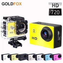 Wholesale Sports Waterproof Dv Camera Video - Go Pro Sports DV Recorder SJ4000 Camera 1080P 2 Inch Action Camera Car DVR Camcorders Waterproof Video Action Camera Aksiyon Kamerasi