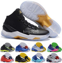 Wholesale 2016 Cheap Curry Mens Basketball Shoes Sneakers Retro Signature Stephen Curry Trainer Curry s Basket ball Shoe Sports Boots Size