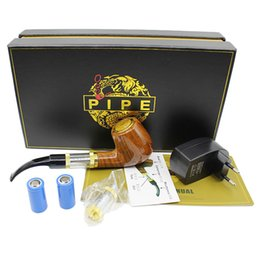 E Pipe 618 Pipe Electronic Cigarettes kits old-fashioned Vapor E Smoking Pipe style Electronic Smoking Pipe Starter Kits E Cigs