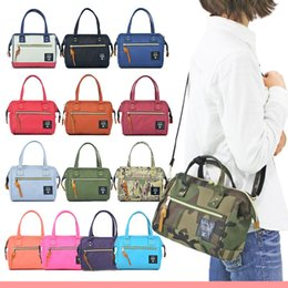 Wholesale Anello Small way shoulder bag Kawaii Canvas Shoulder Crossbody Bag Postman Handbag Campus School bag DHL Free