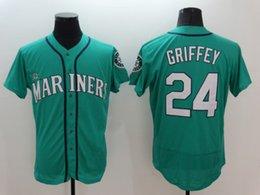 Wholesale Ken Griffey Jr Mariners Jersey Ken Griffey Jr Cincinnati Reds Baseball Jersey Hall Of Fame Induction Big Tall Baseball Jersey
