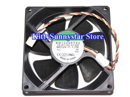 SUNON 9225 KD1209PTS2 12V 1.7W 3wire 2Wire Cooler Fan
