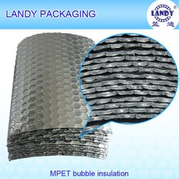 Wholesale Aluminum Foil Bubble Silver Insulations For Roofing Building Isolating Product Insulation Heat Resistant Soundproof Material Guangzhou Panyu