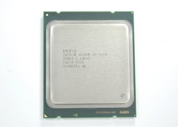 Wholesale Original E5 Intel Xeon E5 Processor GHz M Cache GT s LGA SROKX C2 E5 CPU normal work