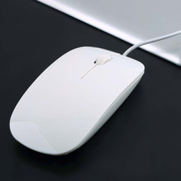 Super Slim USB 1600DPI Wired Optical Mouse Mice 4 For Apple For Macbook For MAC Laptop PC Notebook Universal