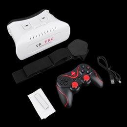 2016 nouvelle réalité virtuelle 3D Lunettes vidéo Bluetooth contrôleur de jeu pour Smartphone vente chaude à partir de nouveaux jeux vidéo fournisseurs