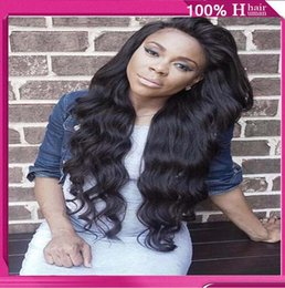 Wholesale Freeshipping Full Lace Wigs and Front Lace Wig Virgin remy Malaysia Unprocessed Hair long length Charming for women