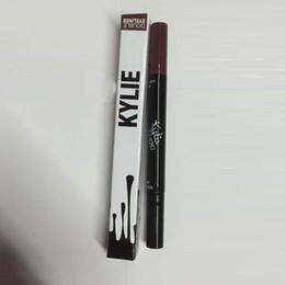 Wholesale Kylie Double Eyeliner Waterproof Black and brown in Kylie Eyeliner Pencil Pen Makeup tool by Kylie Jenner Cosmetics