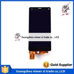 Wholesale Z3 Compact Kompatible Marke und gt quot bildschirm für Sony Z3 Mini lcd D5503 D5803 display touchscreen Z3 Mini lcd digitizer Original