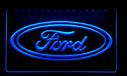 LS155-b Ford Car Neon Signs