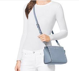 M 2016 Kiss Luxury brand women bag Famous designer Rivet handbag high quality PU leather women Messenger Bag Free shipping