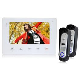 """Acheter en ligne Caméra pour la sécurité cctv-YSECU 7 """"TFT câblé Intercom vidéo Doorbell Rainproof porte Téléphone Camera carillon pour CCTV Home Security vidéo système de téléphone porte"""