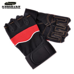 Wholesale-Gym Body Building Training Fitness Gloves Sports Equipment Weight lifting Workout Exercise Breathable Wrist Wrap Cycling Gloves