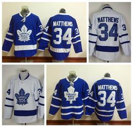 Wholesale 2016 New Draft Toronto Maple Leafs Jersey Blue Auston Matthews Ice Hockey Jerseys Team Color Alternate All Stitched Best Quality