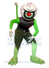 Wholesale Factory Custom Diving Alien Eye Ball Mascot Costume Adult Cartoon Character Eyes Theme Anime Cosply Carnival Mascotte Fancy Kits