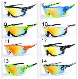 Wholesale High Quality Fashion JAWBREAKER Sports Sunglasses Polarized Women Men OO9270 Interchangeable Lens Jawbreaker Cycling Eyewear With Box