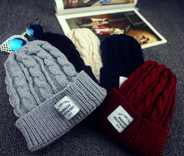 Men snapback hats women in autumn and winter hat knit cap fashion outdoor warm wool cap 670