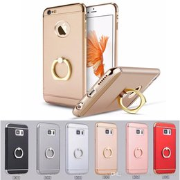 3 in 1 Luxury Shockproof Armor Bling ring stand clip Back Case Cover For Apple iPhone 6 & 6S Plus iphone 6 6s plus