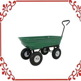 Wholesale Garden Dump Cart Dumper Wagon Carrier Wheel Barrow Air Tires Heavy Duty