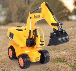 Wholesale new CH RC hydraulic excavator remote control toys rc tractor truck brinquedos carros WU405