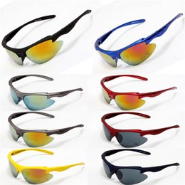 Wholesale Cheap Bicycle Glasses - Polarizing Sports Bicycle Glasses for Men & Women Cheap Butterfly Goggle PC Glass UV400 Beach Sunglasses for Adults