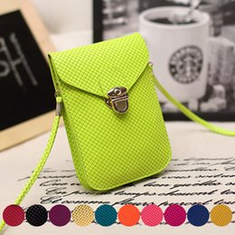 Wholesale 2016 Hot Fashion Multi layer Cell Phone Bag Flap Women Crossbody Bag Korean Mini Coin Purse Women Messenger Bags Shoulder Bag
