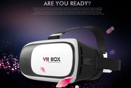 Wholesale 3D glasses Vr headset Vr box Virtual Reality glasses for IOS and Android cell phone inch inch